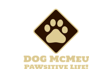 Dog McMeu Pawsitive Life Logo